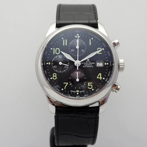 Jacques Lemans Fliegerchronograph Valjoux 7750
