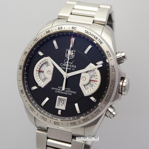 TAG Heuer Grand Carrera RS 17 Chronograph, Ref.: CAV511A -B&P