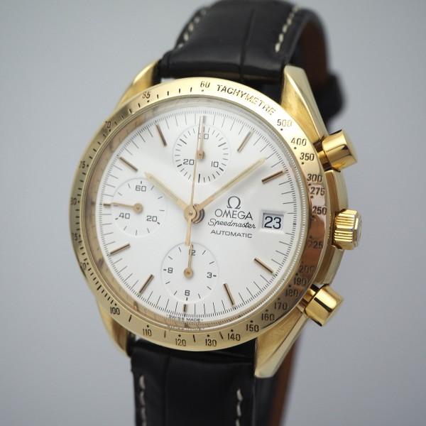 Omega Speedmaster Chronograph Gold 18k/750, 175.0043