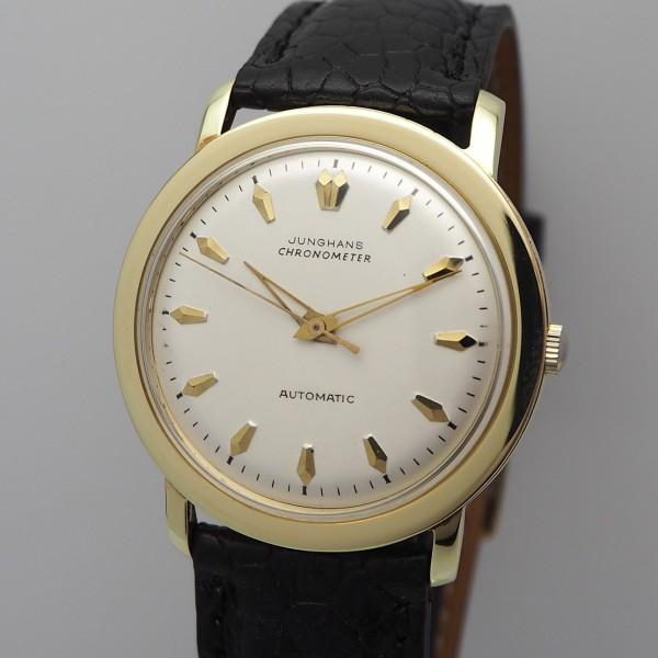 Junghans Chronometer Vintage Cal.83/1 -Gold 14k/585