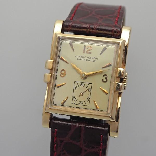 Ulysse Nardin Vintage Damenuhr 14k Gold
