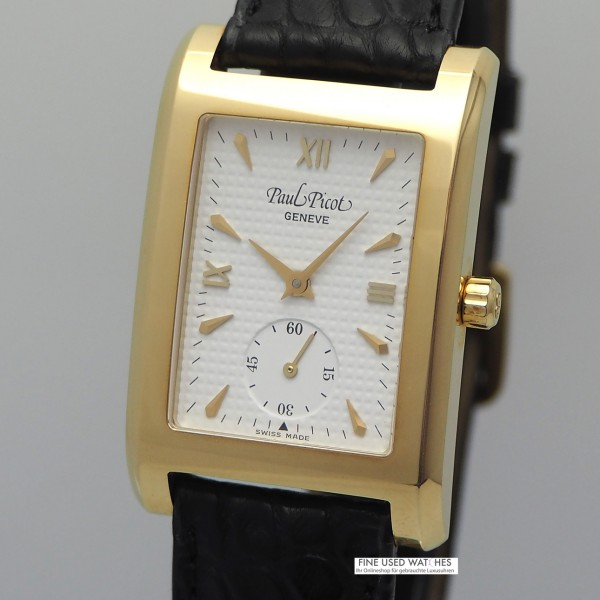 Paul Picot Brooklyn Lady Gold 18k/750, perfect