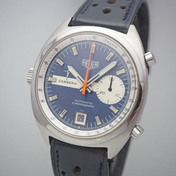 Heuer Carrera Vintage Chronograph Ref.1553 Cal. 15