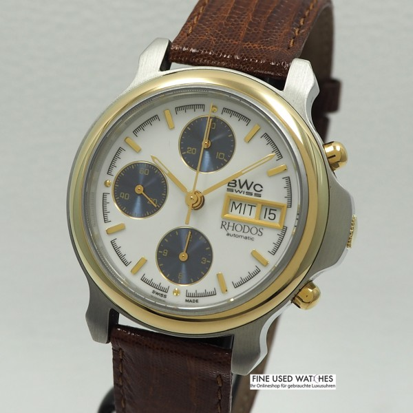 BWC Rhodos Chronograph -Stahl/ Gold Automatik