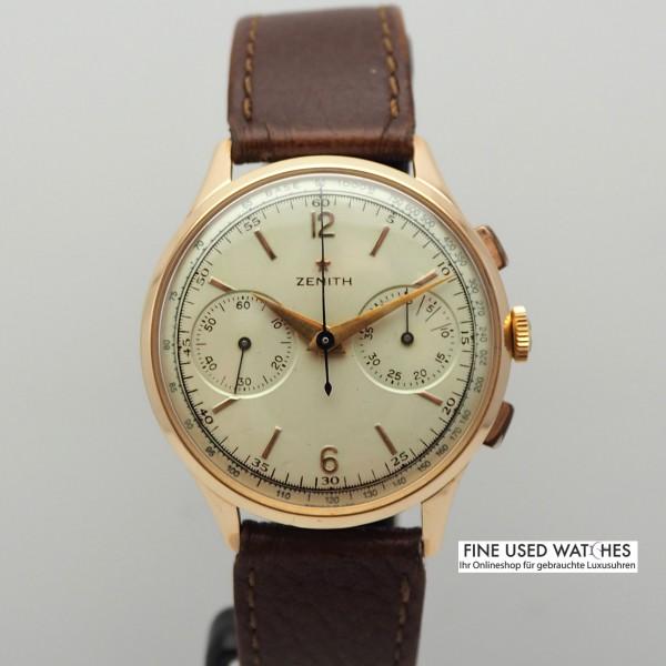 Zenith Vintage Chronograph 18k Rosegold