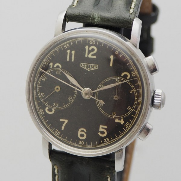 Heuer Military Chronograph Vintage Landeron 13