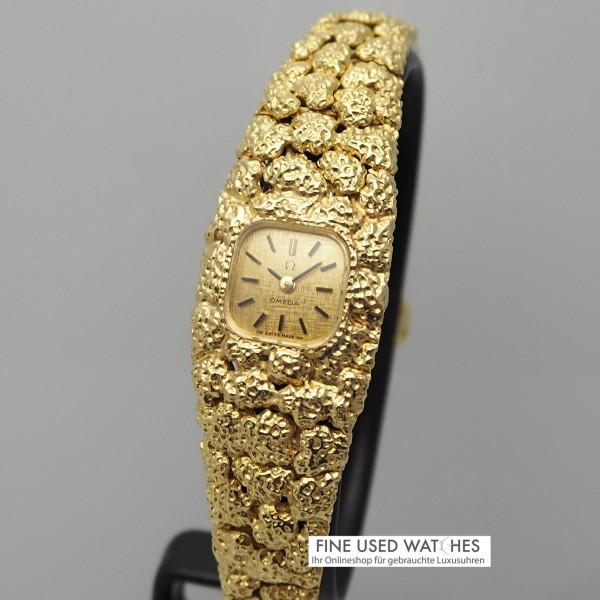 Omega Rocaille D´Or Damenuhr-Ring Set aus der Omega Schmuck-Collection very rare