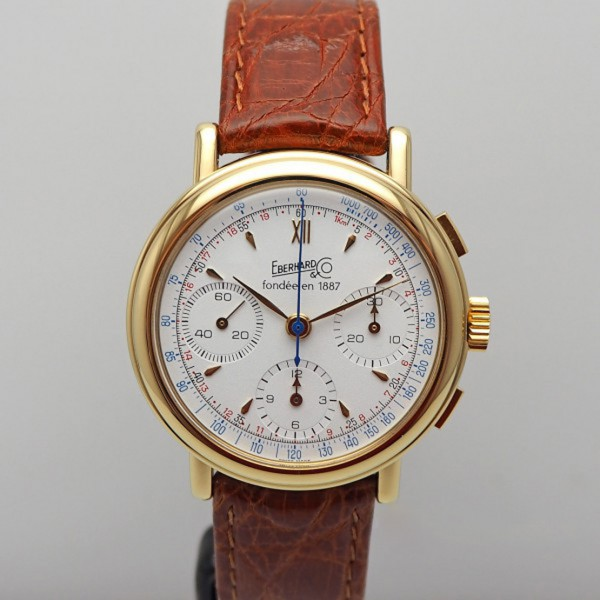 Eberhard & Co Vintage Edition d´anniversaire Chronograph limited Edition 399 Stk.
