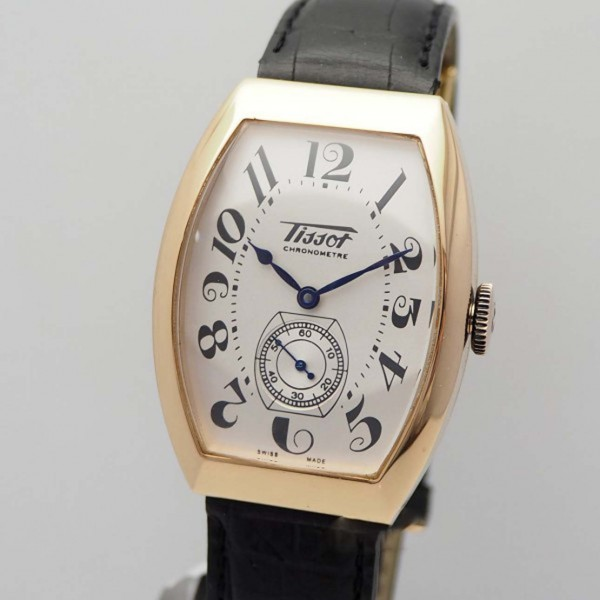 Tissot Porto 1925 Heritage Gold 18k/750, Limited Edition, Box+papers