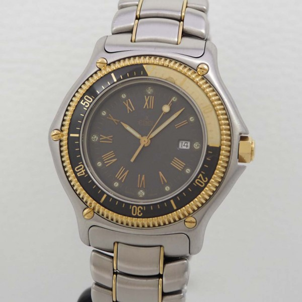 Ebel Discovery Diver´s, Stahl/ Gold, 40mm, 183913