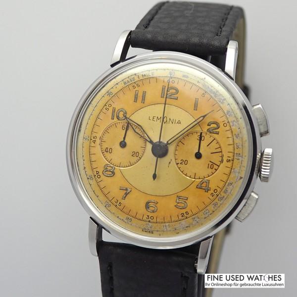 Lemania CH27 Chronograph Vintage