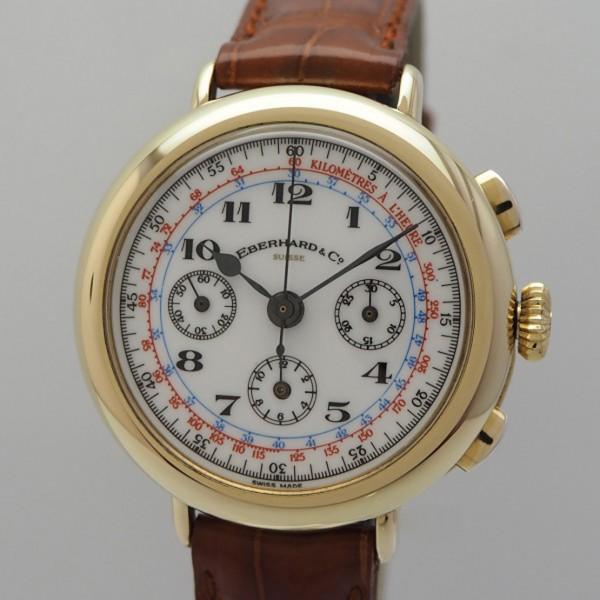 Eberhard & Co.Replica 925/-Silber vergoldet Excelsior Park Handaufzug Chronograph