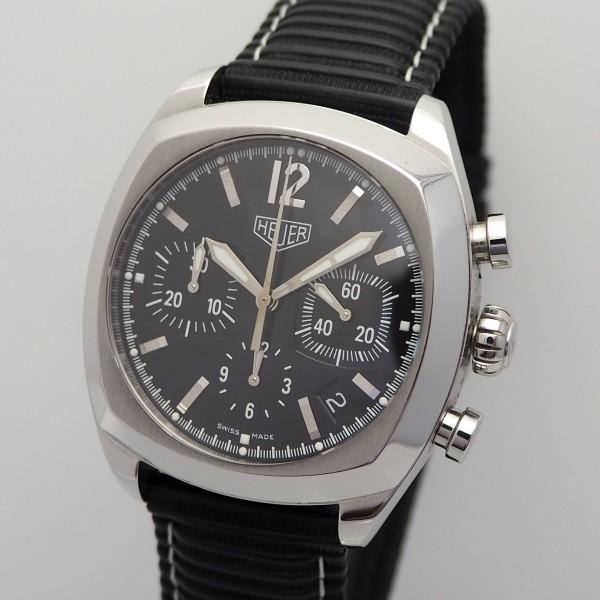 Tag Heuer Monza Chronograph, Stahl/Leder,CR2110