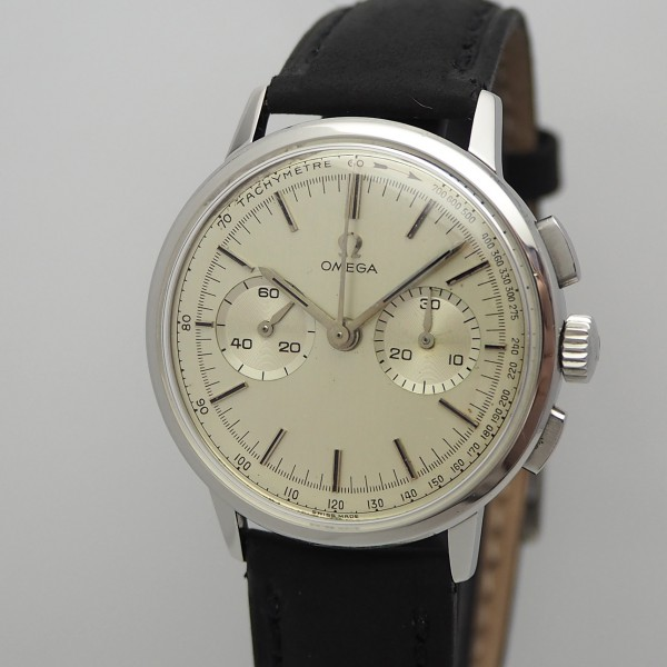 Omega Vintage Chronograph Handaufzug 320, Stahl 101.009 from 1963