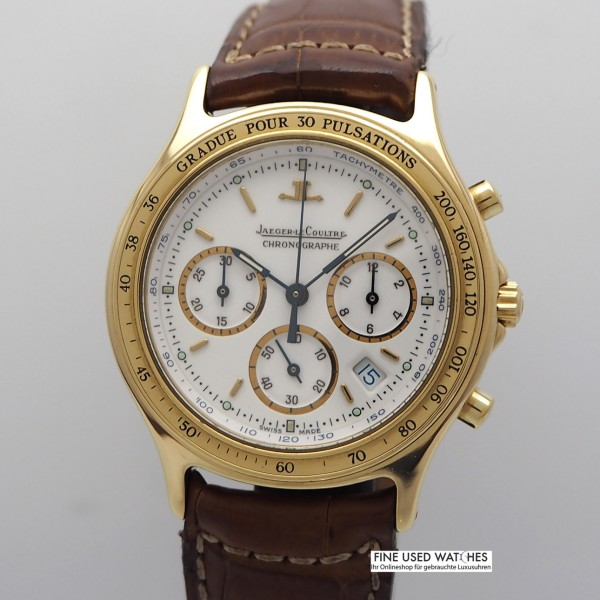 Jaeger LeCoultre Heraion Chronograph -Gold 18k/ 750, JLC Box