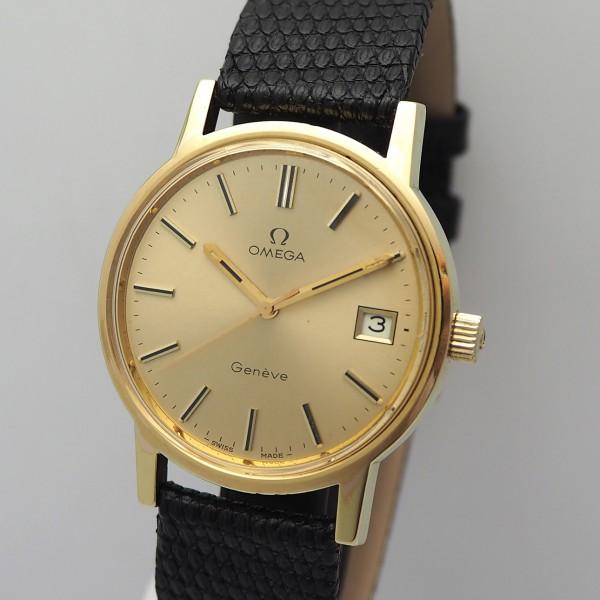 Omega Geneve Vintage Handaufzug Cal. 1030, 136-0104