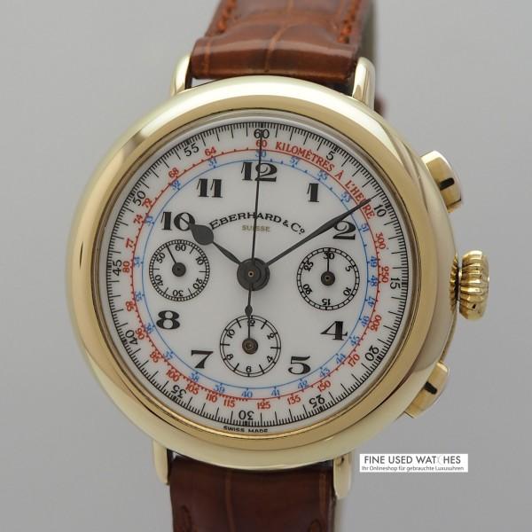 Eberhard & Co.Replica 925/-Silber vergoldet Excelsior Park Handaufzug