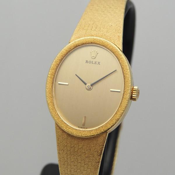 Rolex Lady Vintage Gold 18k/750, Handaufzug, Box+Papiere 1977