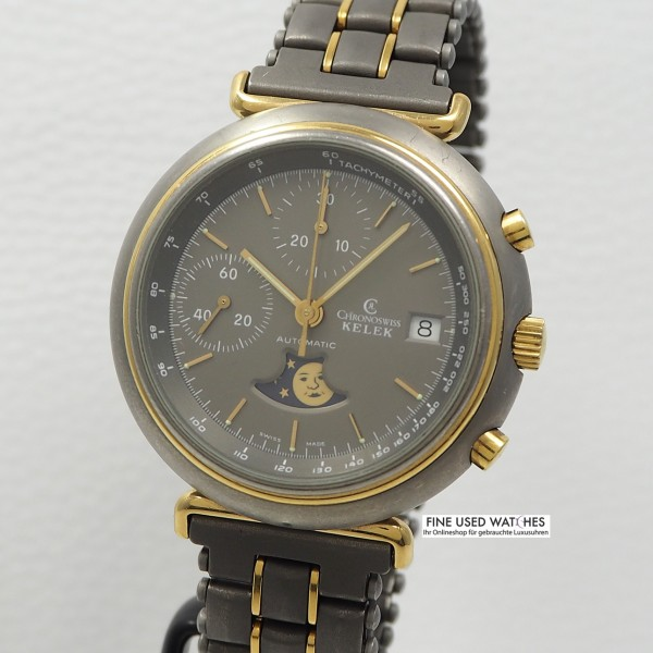 Chronoswiss Kelek Ref.247 Titan-Gold