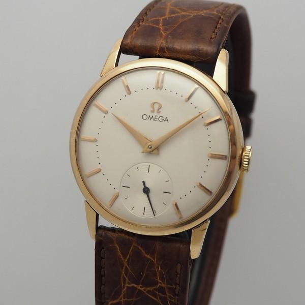 Omega Vintage 1958 18k Rosegold Cal.267