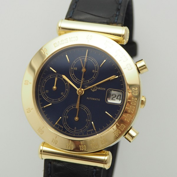 Ulysse Nardin Newton Chronograph, Gold 18k/750
