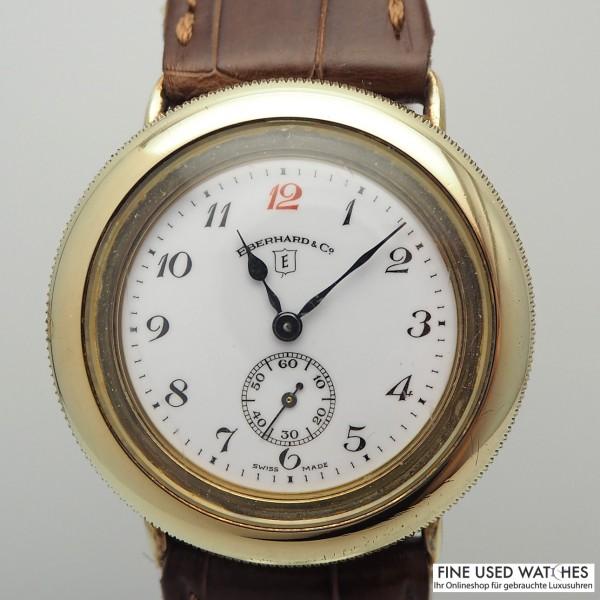 Eberhard & Co Patrouille 925/-Silber 20 Mikron vergoldet