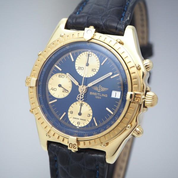 Breitling Chronomat 18k/750, Ref. K13047 Box & Beschreibung