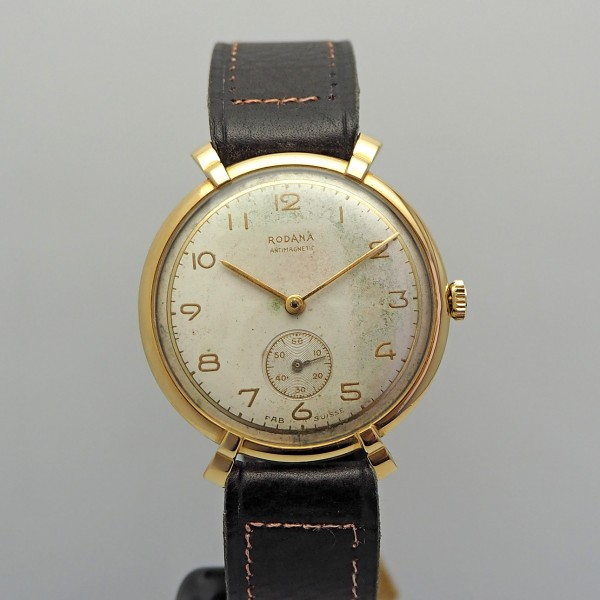 Rodana Klassik Vintage 18k Gold Handaufzug