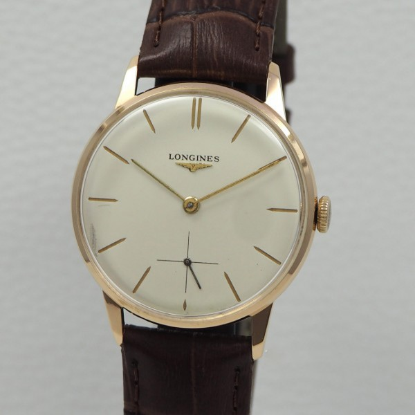 Longines Klassik Vintage Handaufzug 30L 18k/750 Rosegold