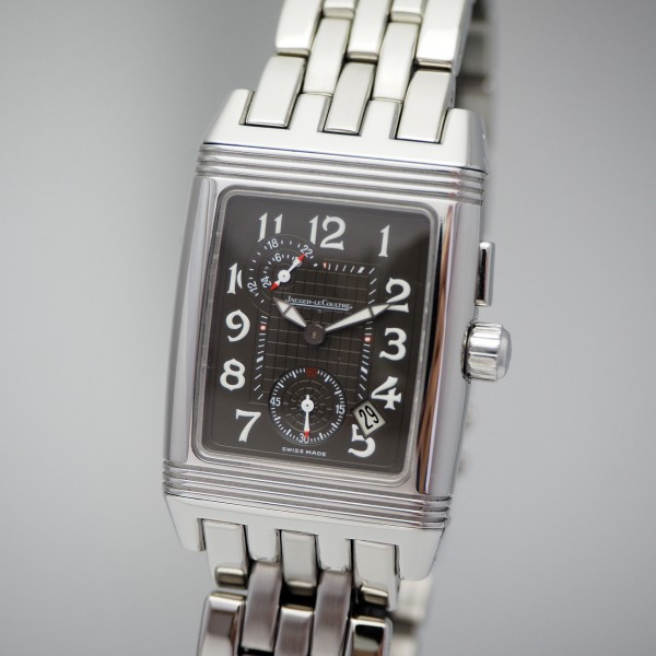 Jaeger-LeCoultre Reverso Gran Sport Duo Face Night & Day Ref: 295.8.51 Box & Papers