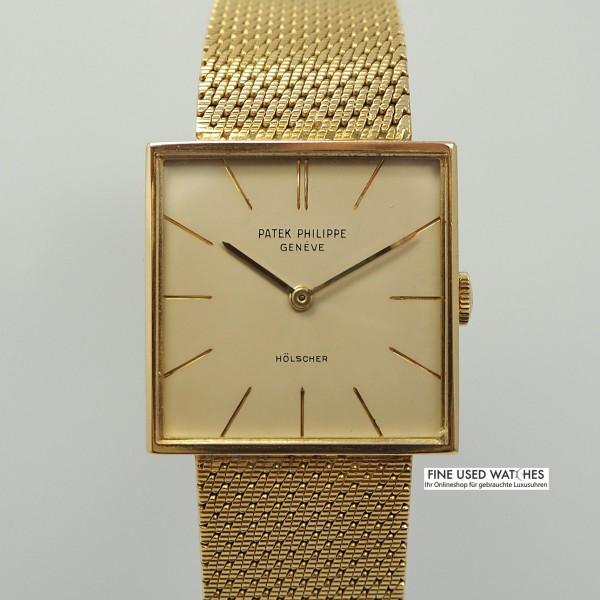 Patek Philippe Square 18k/750 Gold
