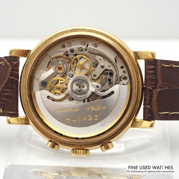Girard Perregaux Worldtimer GP 1010, Stahl/ Gold 18k/750, Leder