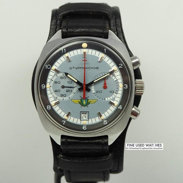 Poljot Sturmanskie Fliegerchronograph RARITÄT Cal. 31659 Vintage