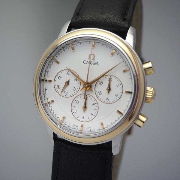 Omega De Ville Prestige Chronograph 861, Stahl/Gold 18k/750, 145.0050