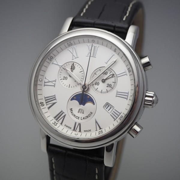 Maurice Lacroix Les Classiques Chronograph mit Mondphase Box