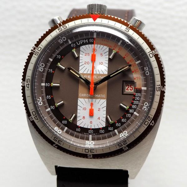 Breitling Pupitre Chrono-Matic Bullhead Chronograph 7101 -perfect like NOS