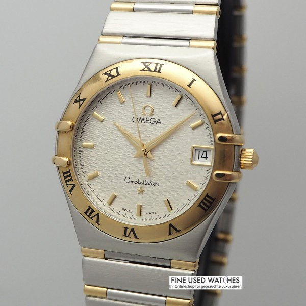 Omega Constellation Date Medium 1212.30.00 Stahl/Gold, Quartz