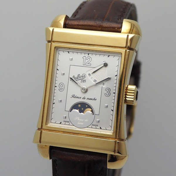 Dubois & fils Virage Phase De Lune Handaufzug Gold 18k/750