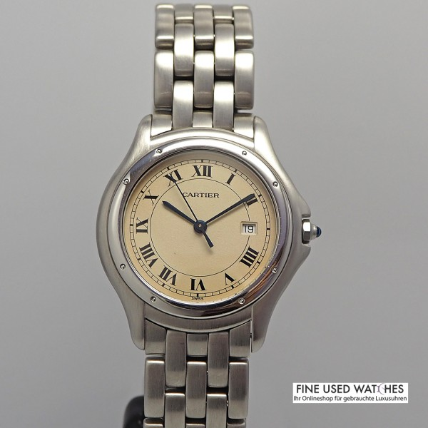 Cartier Panthere Cougar Ref.987904 Stahl/Stahl