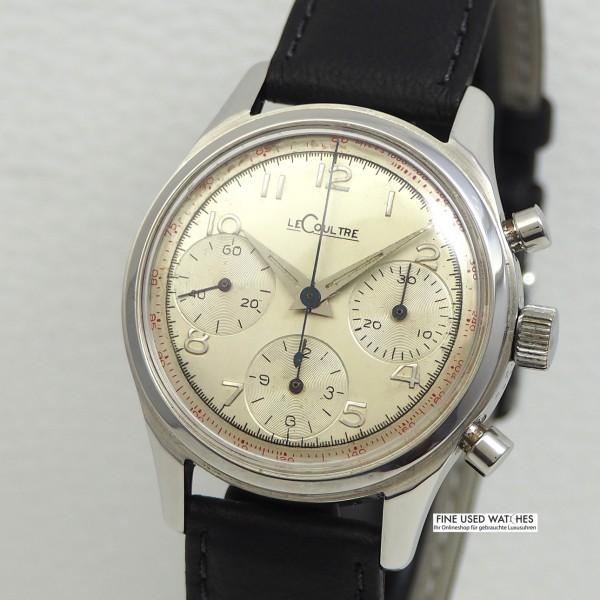 LeCoultre Vintage Chronograph Valjoux 72