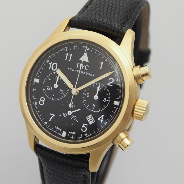IWC Fliegerchronograph, IW3740, Gold 18k/750, Box+Docs