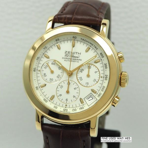 Zenith El Primero Chronograph -Gold 18k/750