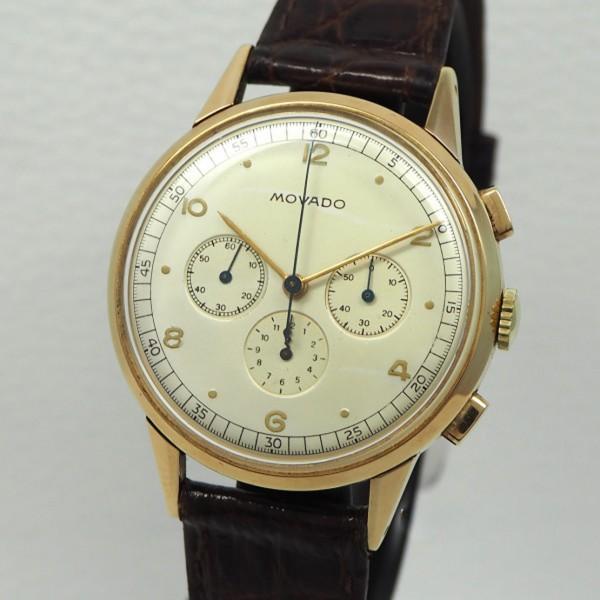 Movado Vintage Chronograph Cal.95 18k/750 Gold