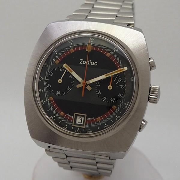 Zodiac Vintage Chronograph Date